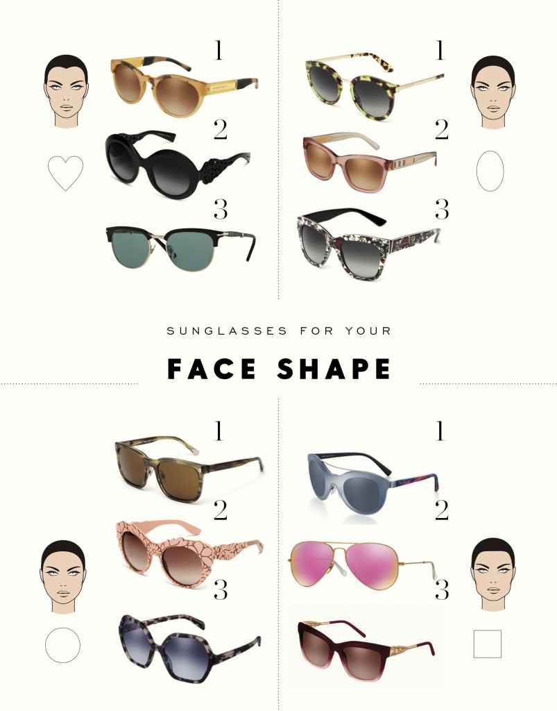 Eyeglass Frame By Face Shape : How to Match Eyeglass Frames to Face Shapes - The Clothes ...